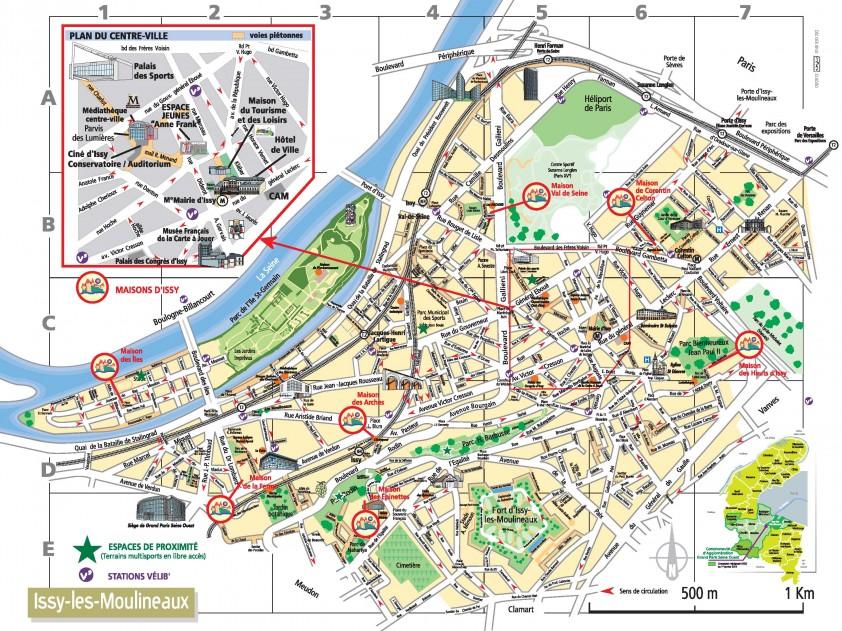 Plan de ville 2013